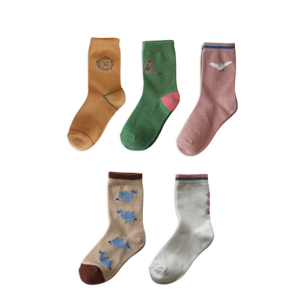 Chaussettes antidérapantes (pack of 5) - Friend's home