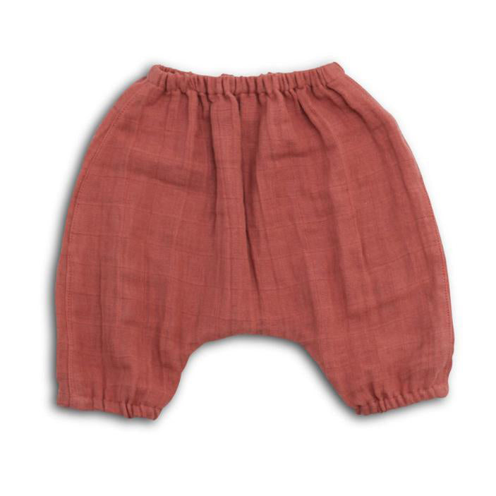 Elliefunday_harem_pants_pantalon_fashion_tendance_mousseline_muslin_cozy_baby_kids_cute_quebec_AW18_ocean_dusty_cedar