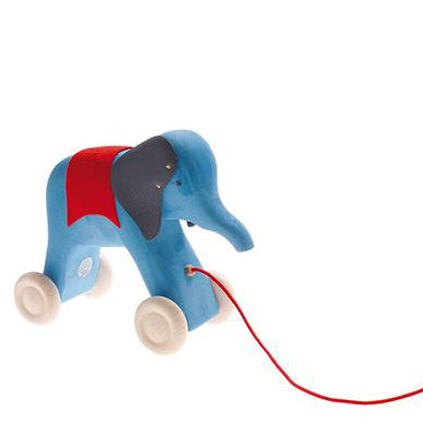 grimm's_elephant_blue_wood_woodentoys_toys_handmade_oil_pullalong_tirer_marche_walking_baby_