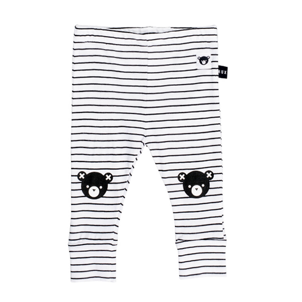 legging_ourson_unisex_stripe_raye_bear_black_white_noir_blanc_fashion