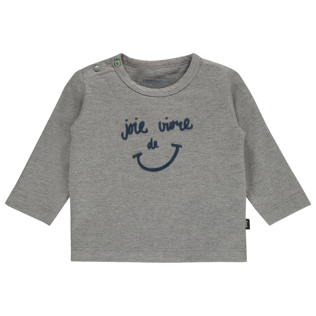 Imps&elf_sweater_shirt_longsleeve_mancheslongues_chandail_baby_fashion_grey_joie_de_vivre_front