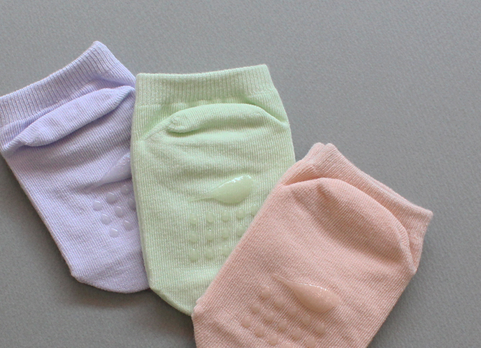 Chaussettes antidérapantes (pack of 5) - Farmers market