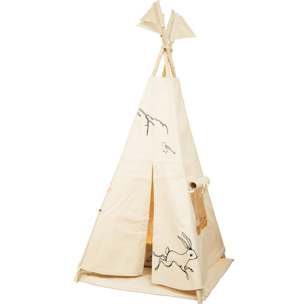 tipi_decoration_tendance_naturel_rabbit_lapin_pinted_handmade_quebec_canada_
