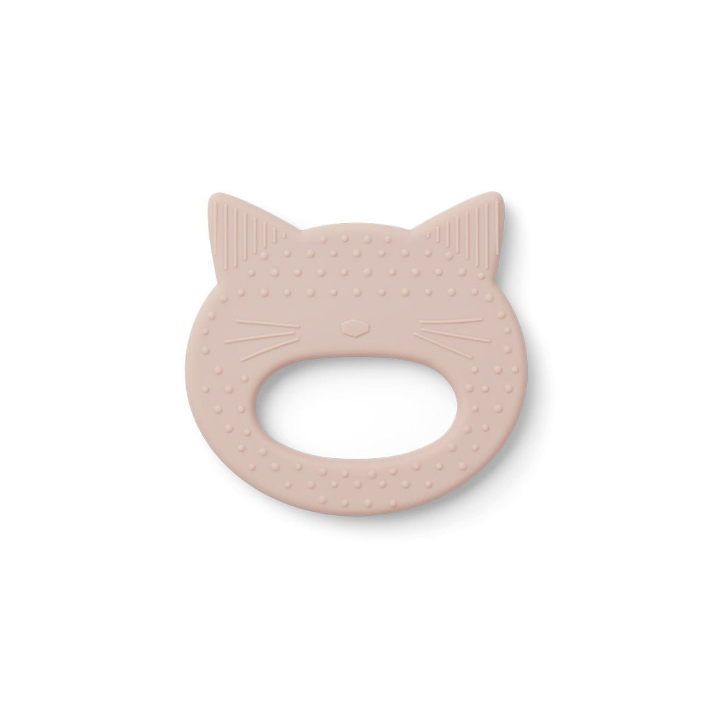 Liewood_teether_silicone_recycled_dent_babyshower_baby_tooth_toys_quebeC_lesptitsmosus_chat_rose_1