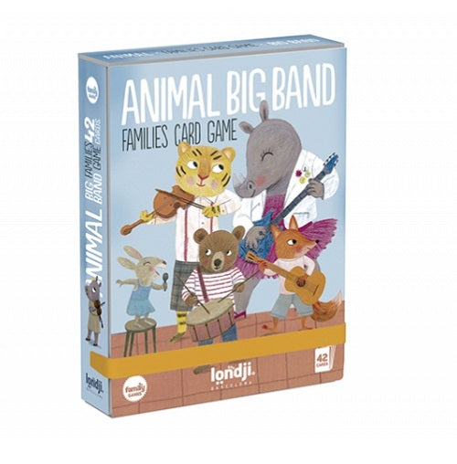 Jeu de cartes - Big band animal