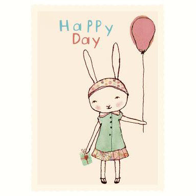 Maileg_happy_day_birthday_carte_anniversaire_handmade_design_lapin_bunny_balloon