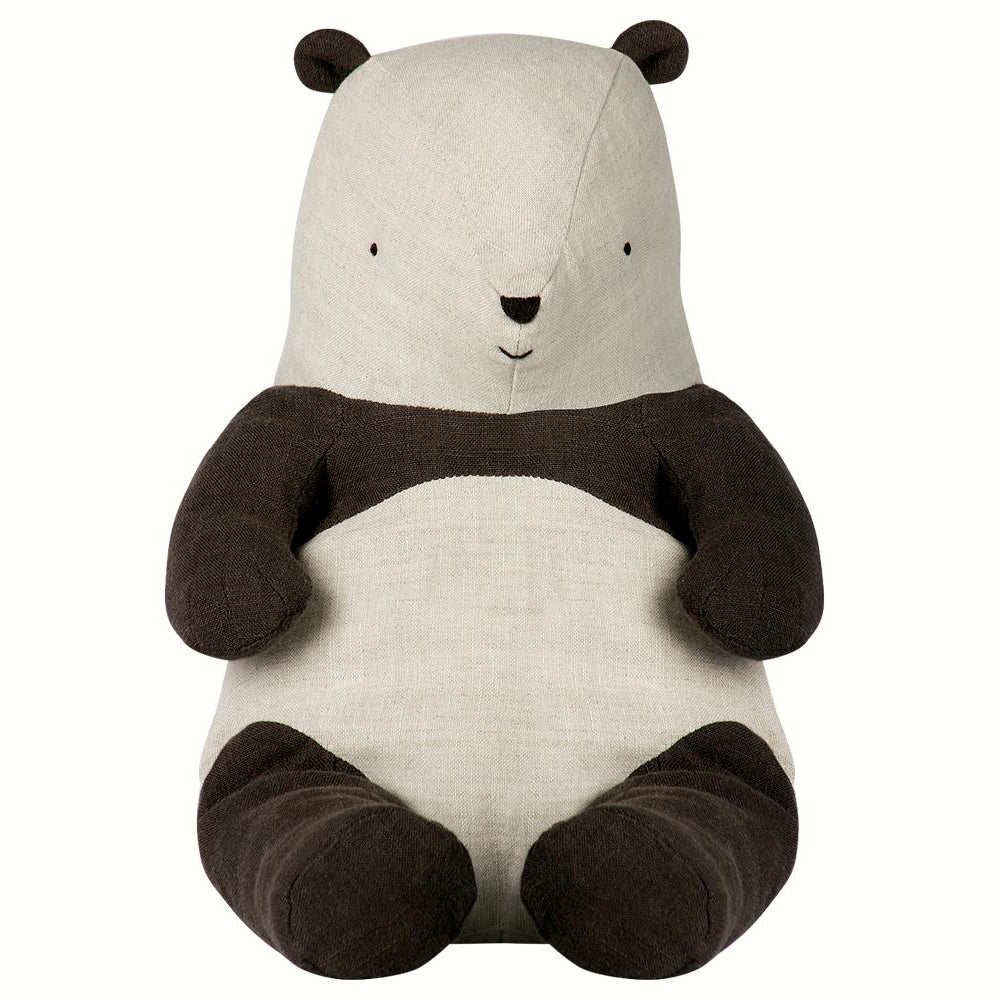 peluche_pillow_safari_friend_soft_kids_decoration_tendance_panda_black_white
