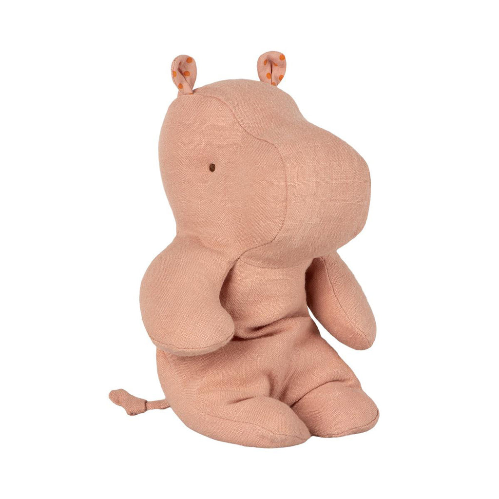 Peluche Safari HIPPO - Petit dusty rose