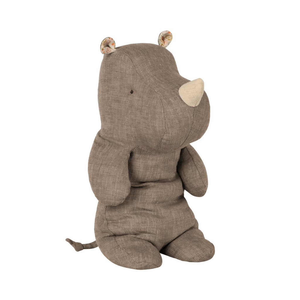 Peluche Safari RHINO - Medium Gris