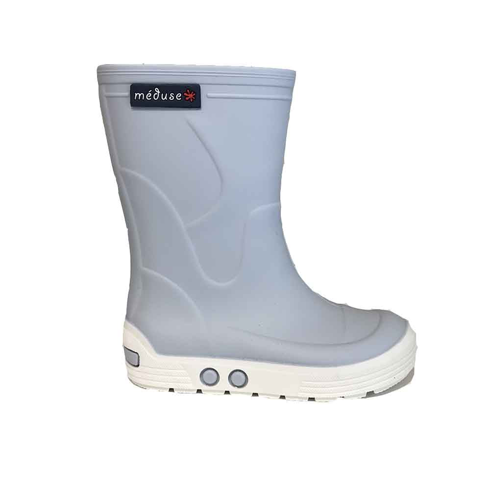 Méduse_rainboot_nuage_botte de pluie_fashion_bleu_blue_gris_mode enfants_kids_baby_waterproof