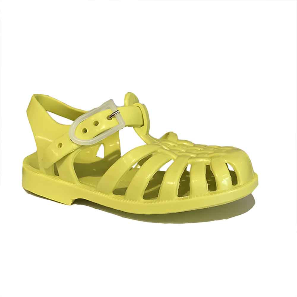 Méduse_sandales_kids shoes_baby_fashion_mode_water shoes_canari_yellow-jaune