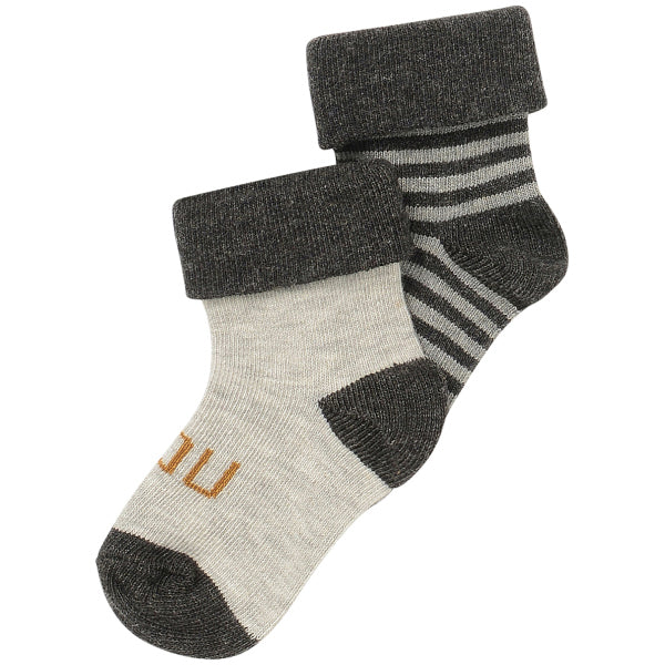 socks chaussettes gris grey blanc white stripes rayé