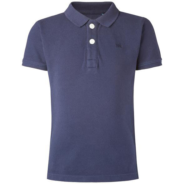 polo bleu marine blue  (642841411607)
