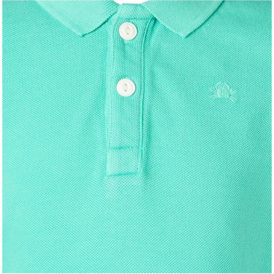 Polo crabe- Turquoise