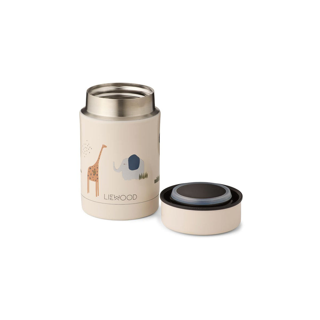 Thermos Nadja en acier inox. - Safari sandy
