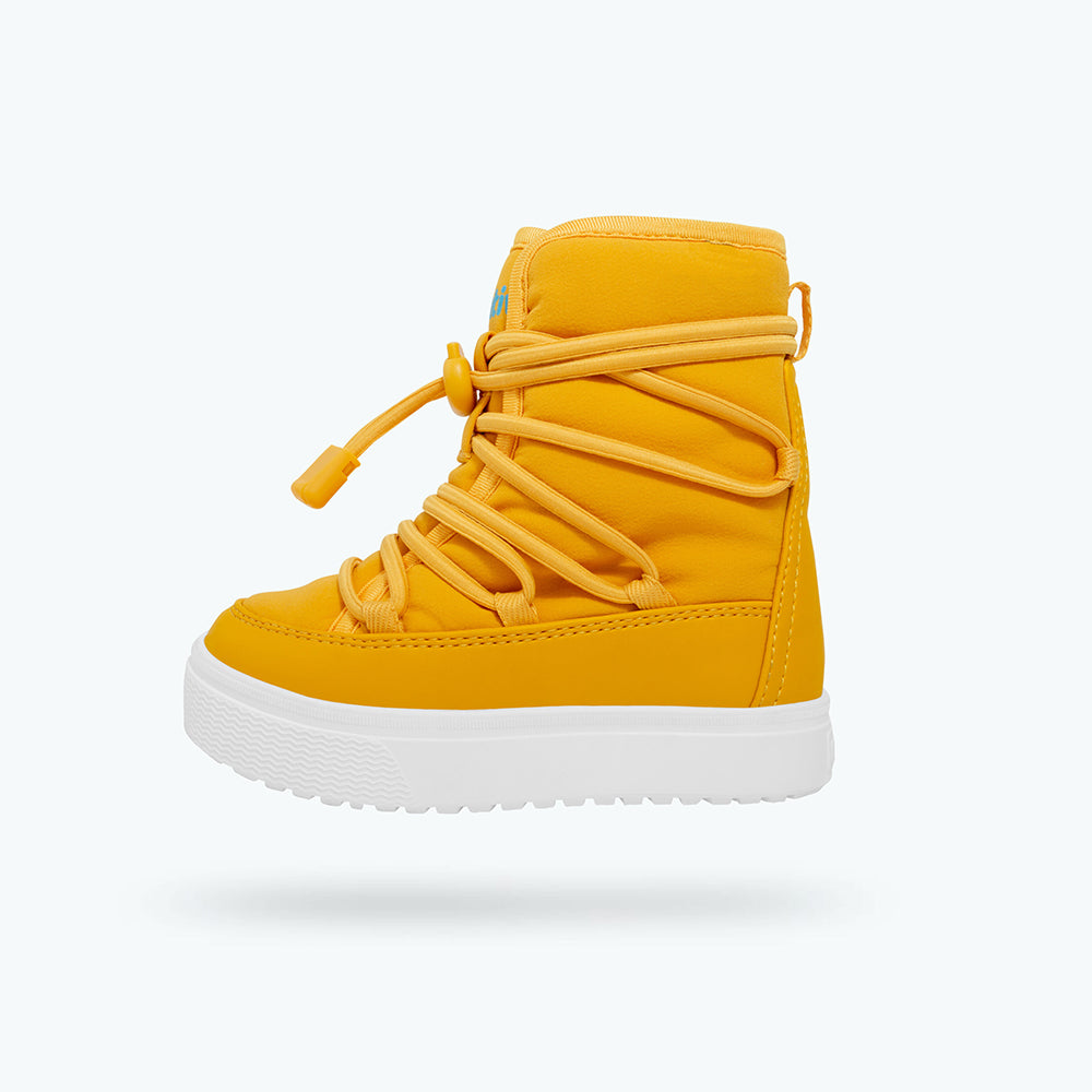 Native_Chamonix_bottes_boots_baby_toddlers_enfants_yellow_jaune_hiver_canadian brand_compagnie canadienne