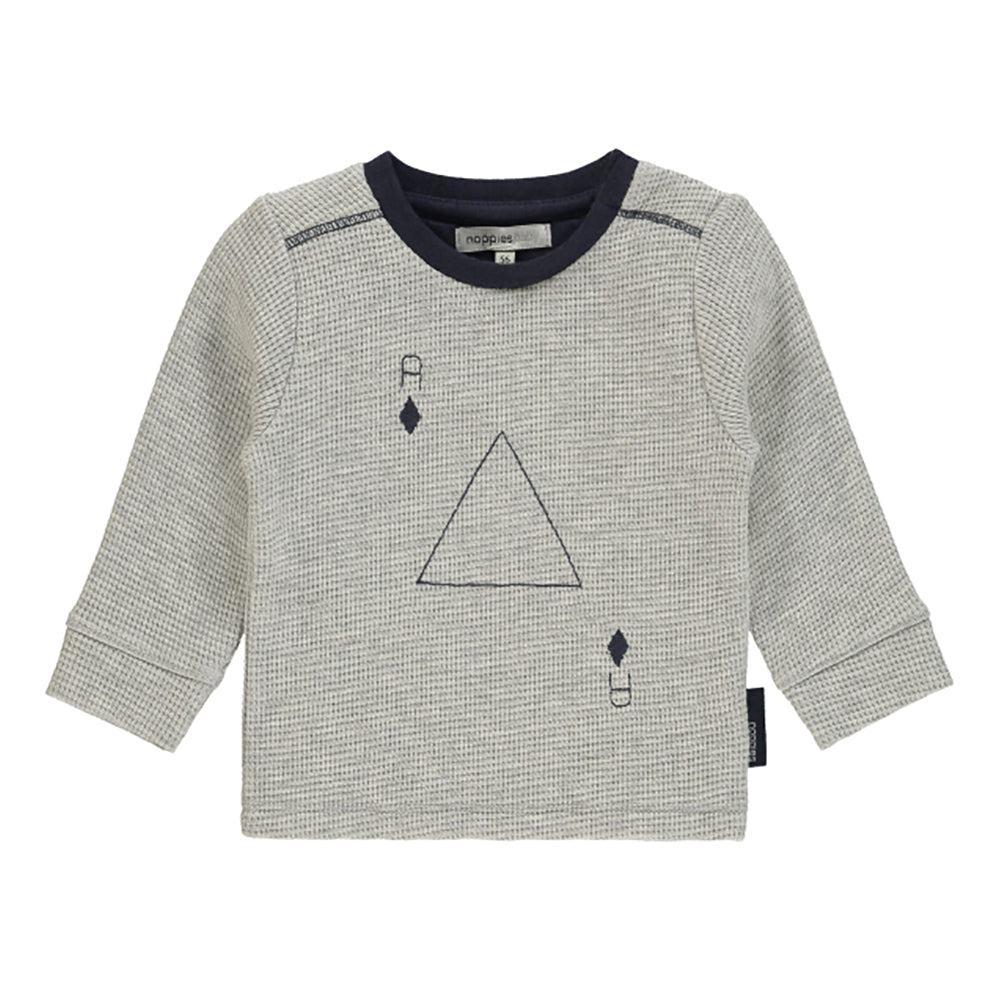 Noppies_chandail_manches longues_long sleeves_coton_organique_organic_cotton_gris_gray_navy_baby_bébé_fashion_mode_simple
