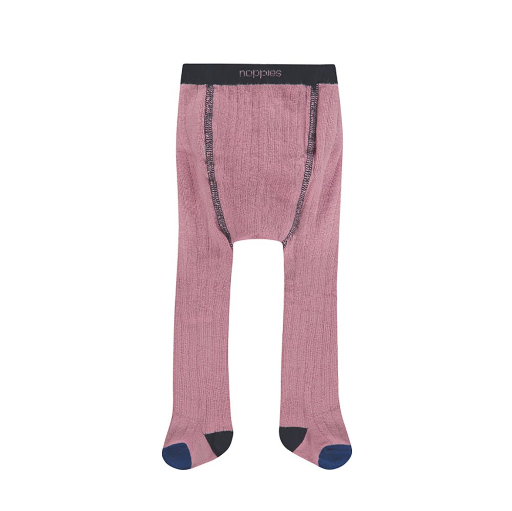 Collant tricot - rose