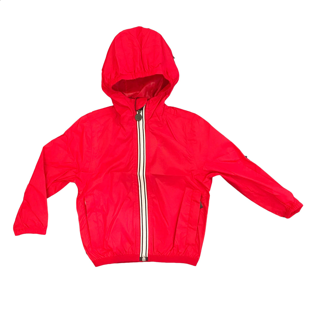 Impermeable waterproof jacket manteau coupe-vent enfant empaquetable (602588774423)