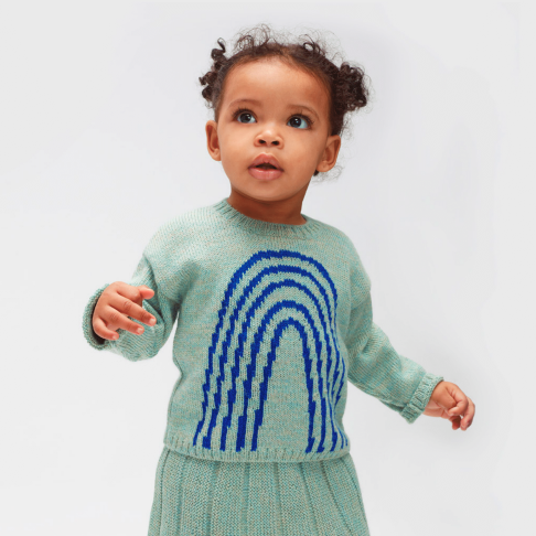 Oeuf_AW19-20_winter_collection_hiver_knit_tricot_highbrand_quebec_lesptitsmosus_kidssstore_babystore_clothing_fashion_trendy_modeenfant_arc-en-ciel_rainbow_swetater_ocean