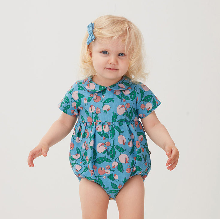 *Oeuf_ss20_quebec_lesptitsmosus_vêtement_clothing_fashion_tendance_littlerascal_coolkids_kids_baby_blue_bleu_barboteuse_romper_bleu_flowers_mood