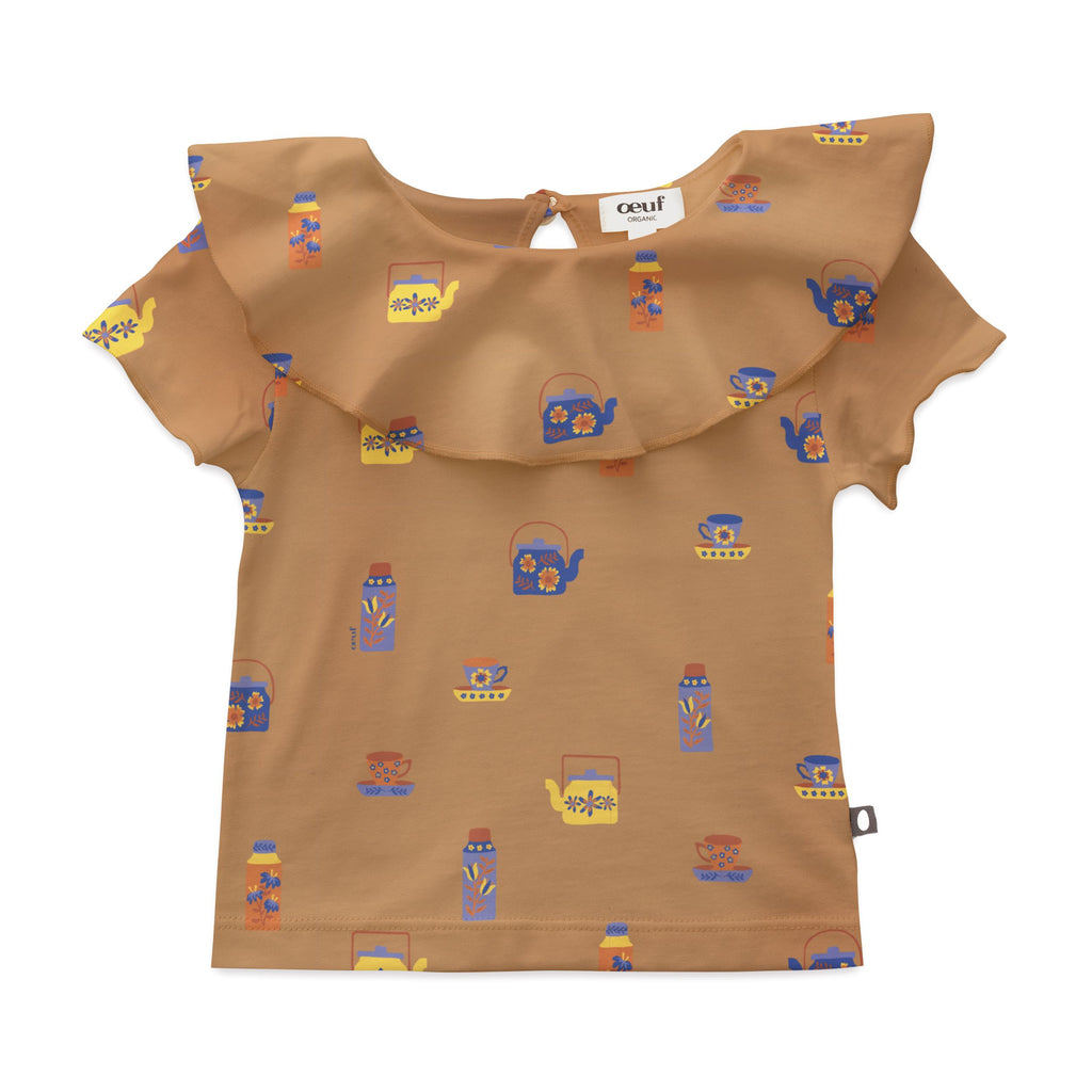 T-shirt pima coton col clown - Doe