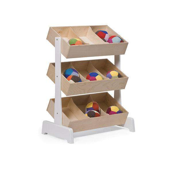 Magasin de jouets ajustables - White / Birch