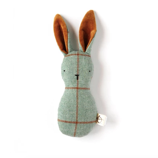 Ouistitine_hochet_rattle_handmade_faitmain_bunny_lapin_plaid_velour_