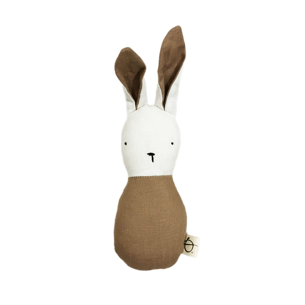 Ouistitine_quebec_madeinquebec_enfant_kidsstore_recycled_wool_laine_handmade_rattle_hochet_lapin_bunny_rouille