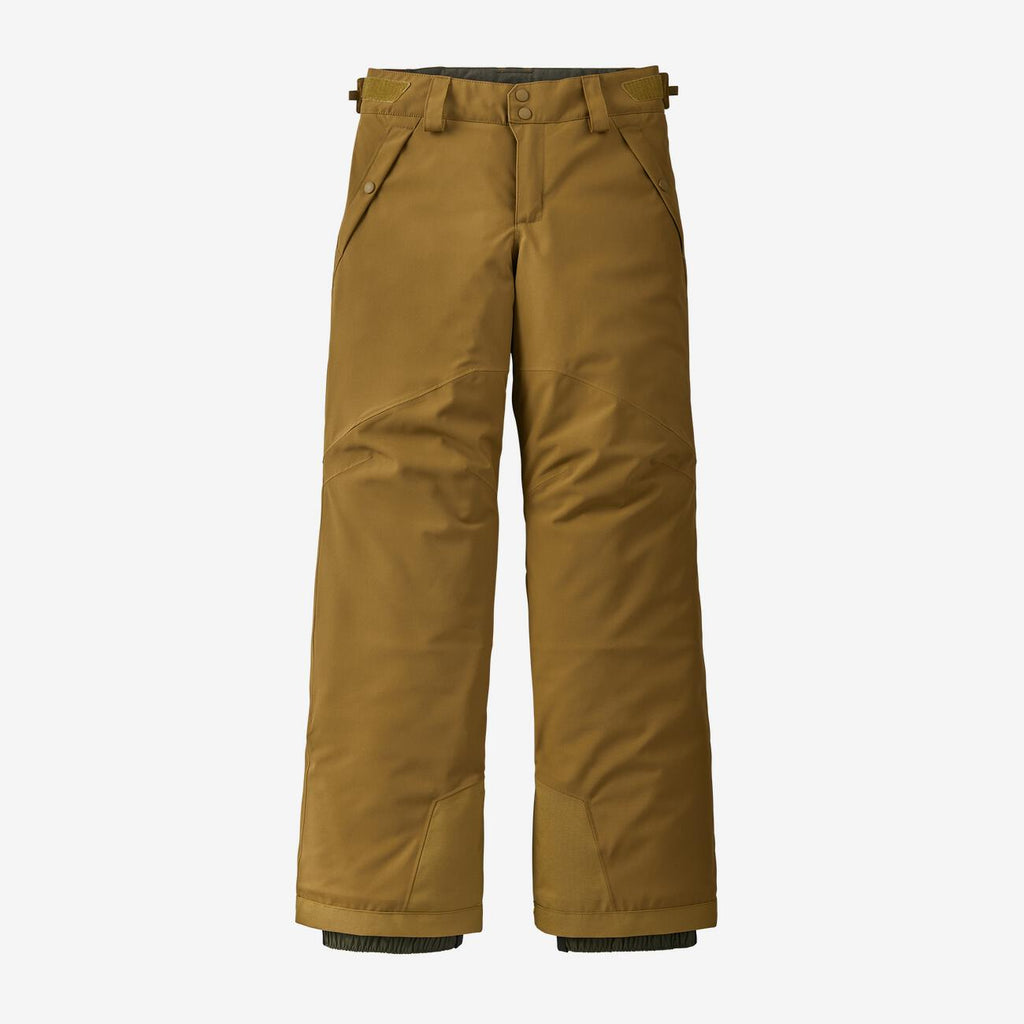 Patagonia enfant Pantalon d'hiver JUNIOR imperméable - Mulch Brown