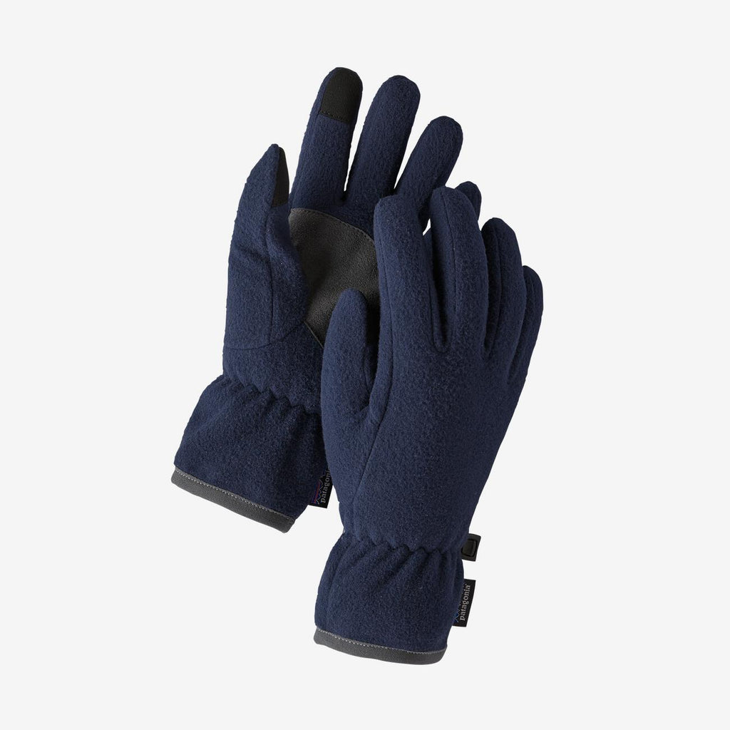 Patagonia enfant Gants molleton double recyclé - New navy