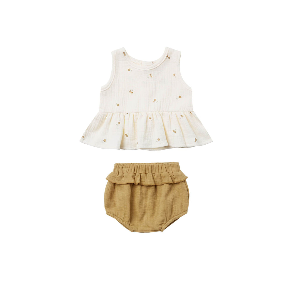 Ensemble camisole + bloomer - Ivory