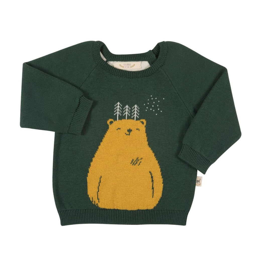 Pull_red_caribou_ours_bear_yellow_knitted_knit_fashion_
