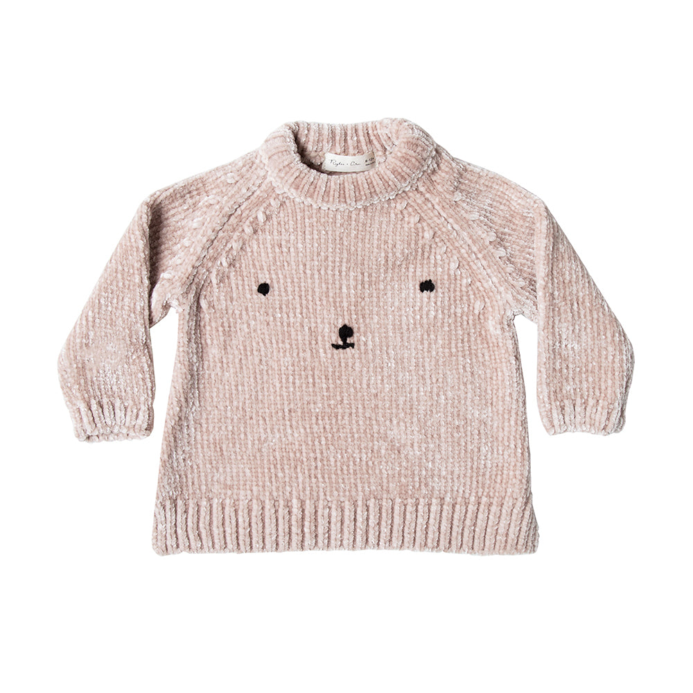 sweater_chandail_long_longsleeve_sweatshirt_pull_rours_bear_chenille__cute_kids_fahsion