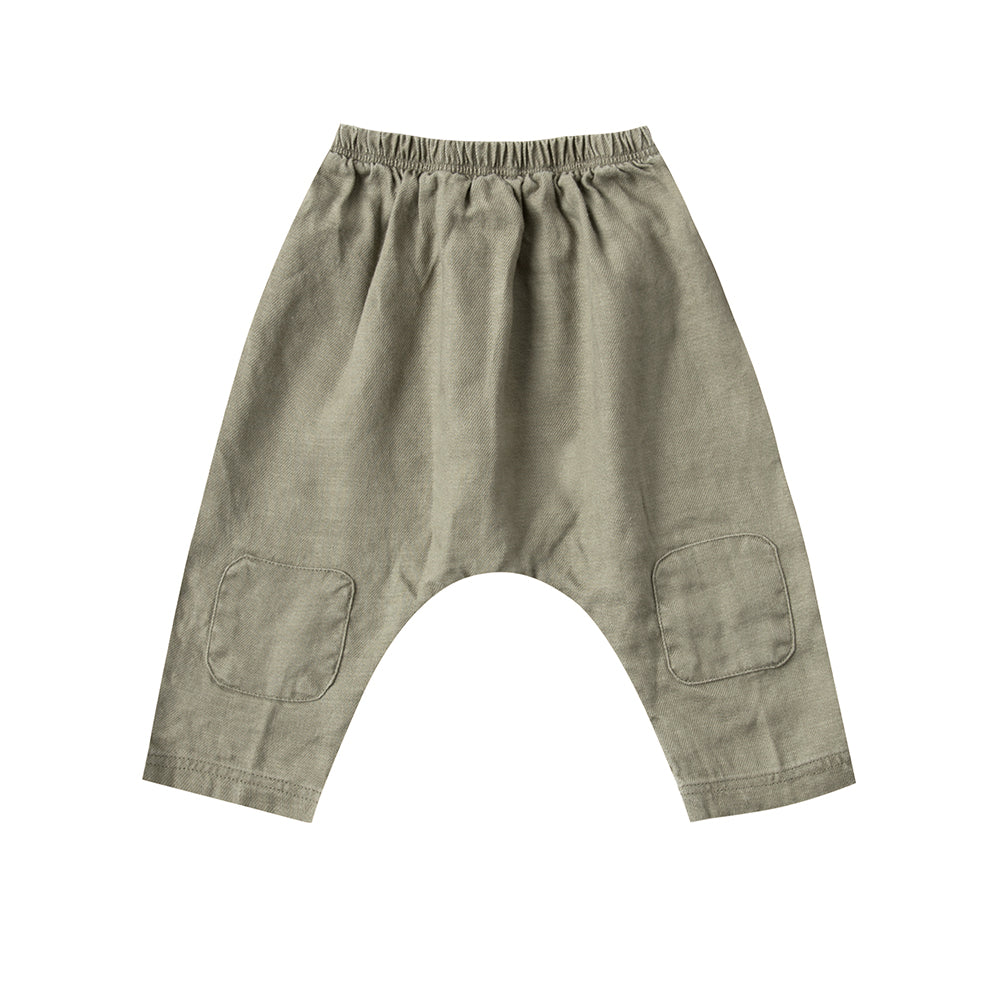 pantalon_harem_pants_olive_fahsion_kids_patch