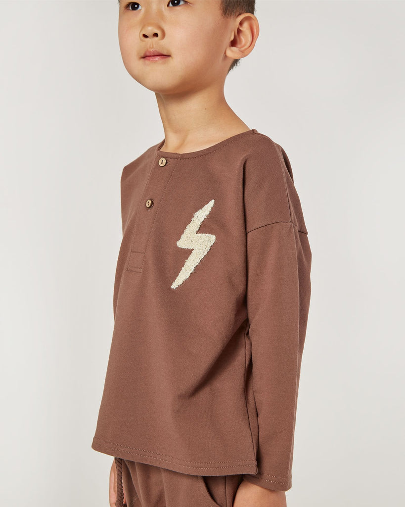 Chandail Henley oversize - Voltage