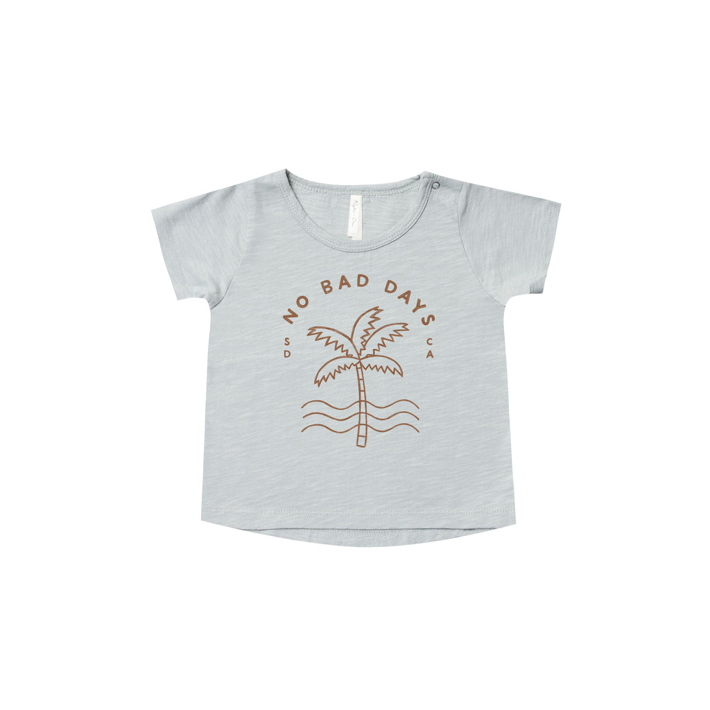 "T-shirt garçon : ""No bad days"" Ciel - Rylee & Cru (4379355021335)"