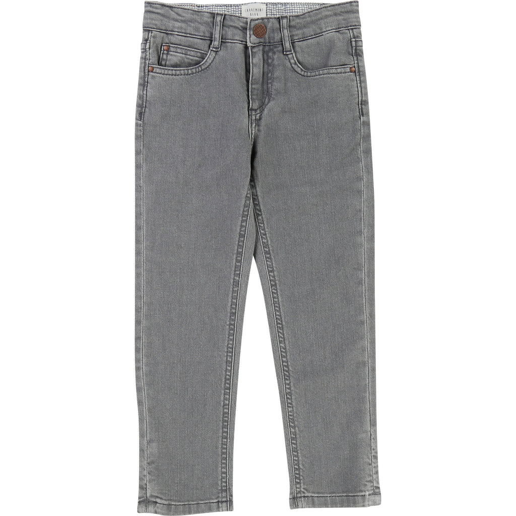 Carrement beau beautiful jeans denim grey cool kids fashion delavé baggy