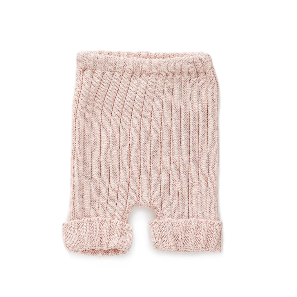 Short en tricot- Rose pâle (573262626839)