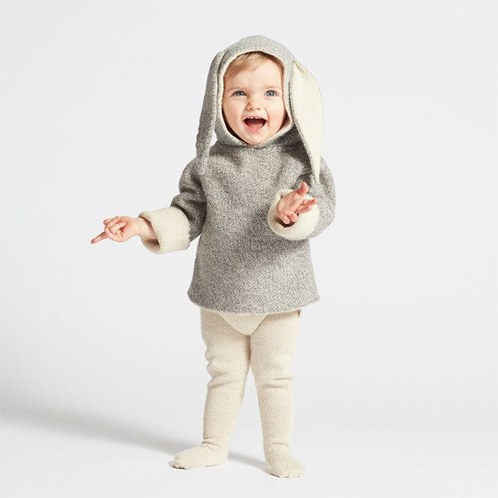 Oeuf_AW19-20_winter_collection_hiver_knit_tricot_highbrand_quebec_lesptitsmosus_kidssstore_babystore_clothing_fashion_trendy_modeenfant_bunny_hoodie_lapin_grey