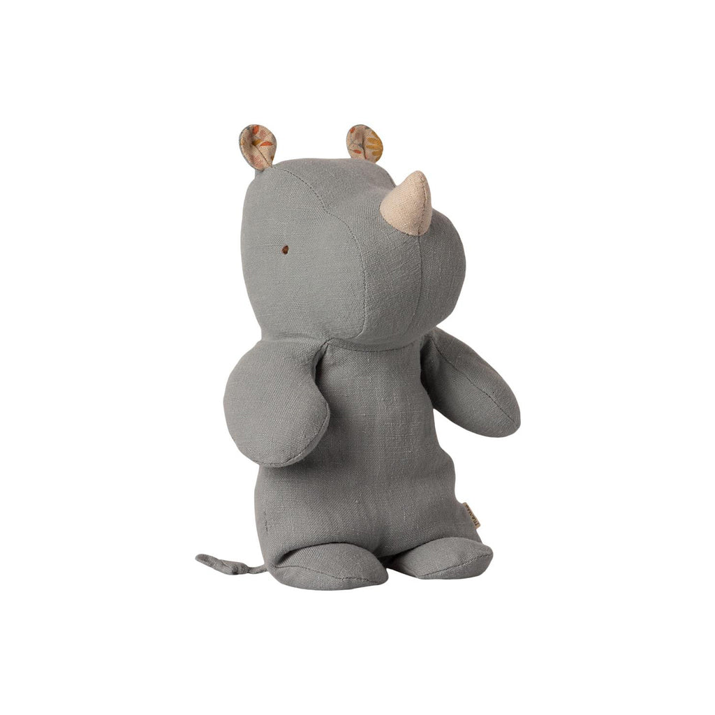Peluche Safari RHINO - Petit blue grey