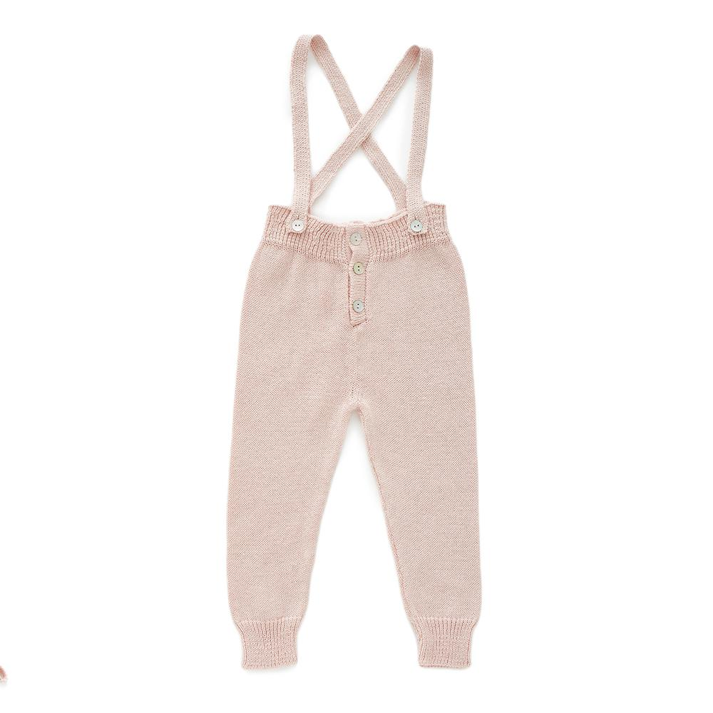 oeuf-ss18-suspender-pants-ltpink_oeuf-ss18-suspender-pants_salopette rose blush Oeuf pima coton knit tricot