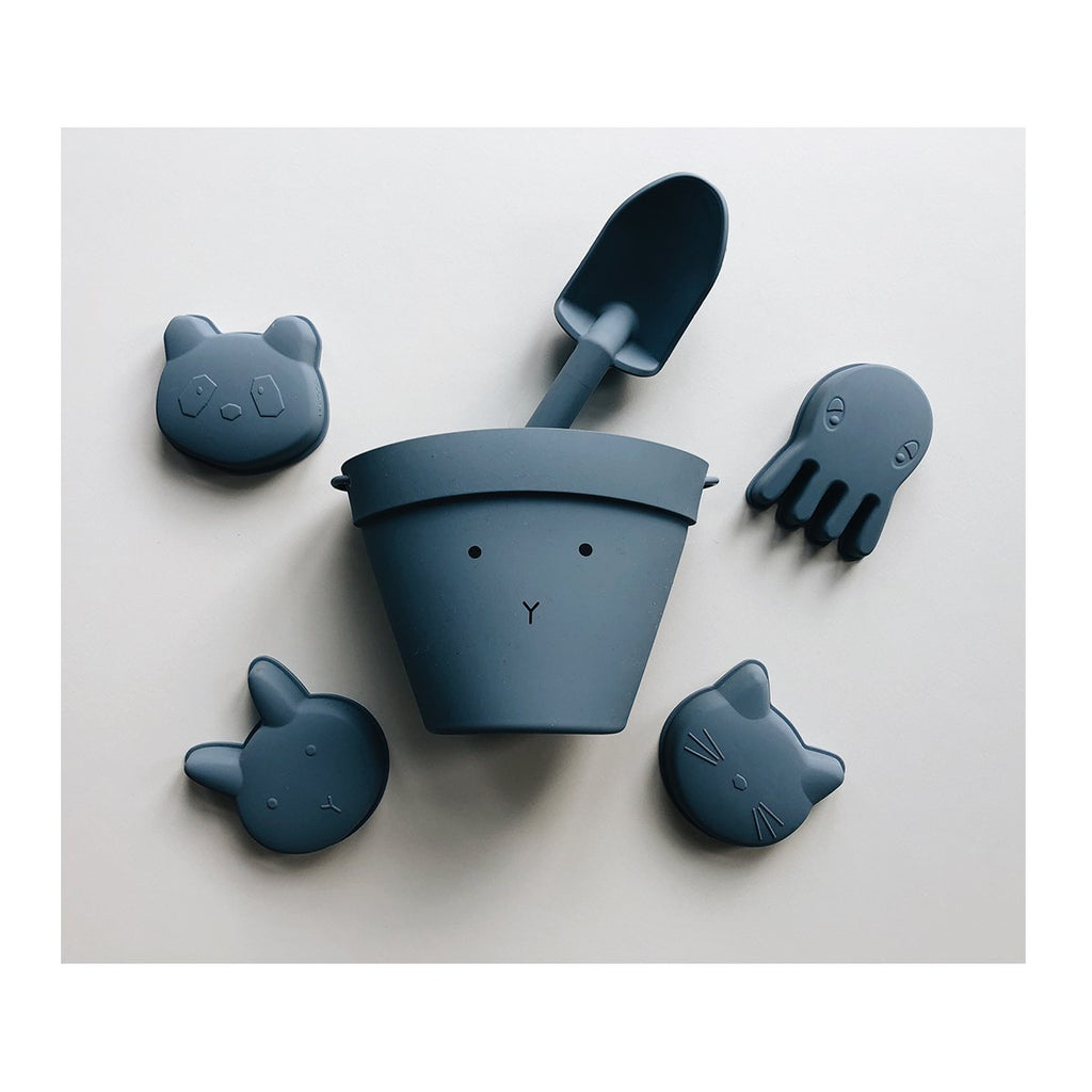Moules animaux en silicone - Blue wave