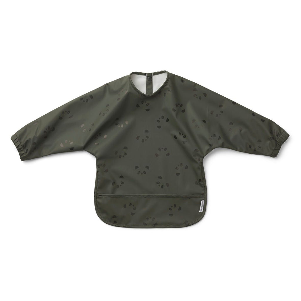 Bavoir chandail imperméable - Panda hunter green