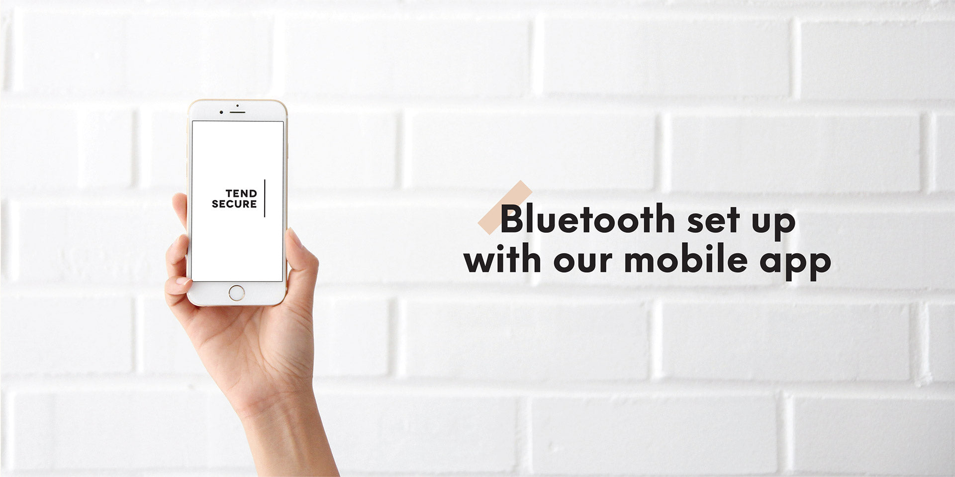 Bluetooth setup with our mobile app