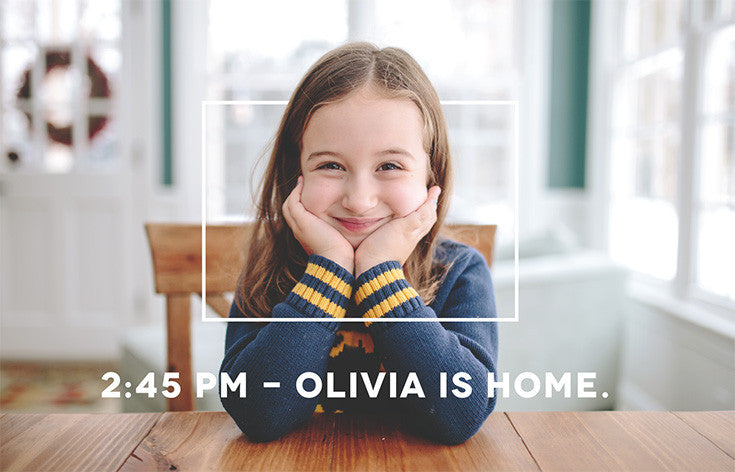 Olivia is home