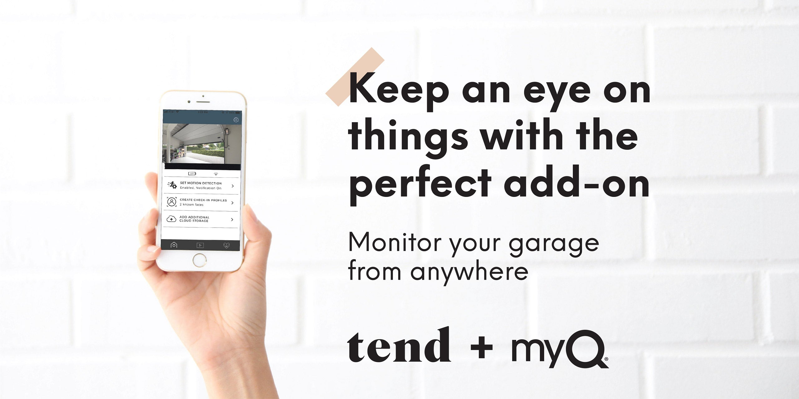 Keep an eye on things with the perfect add-on