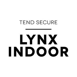 Tend Secure Lynx Indoor vertical logo