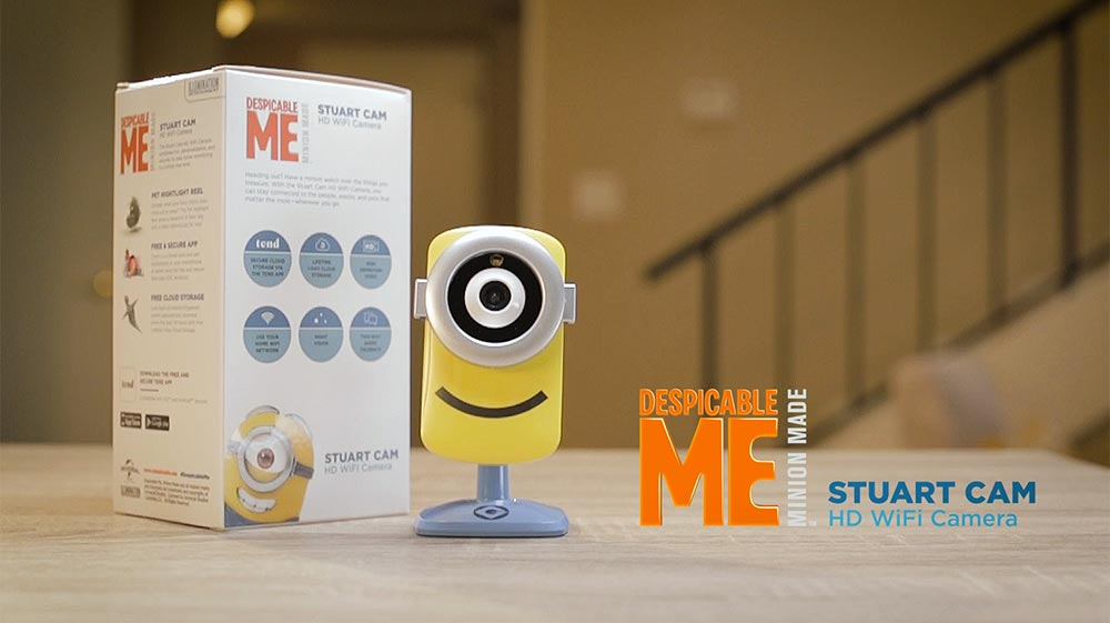 Minion Camera App : Support for stuart camera tend insights