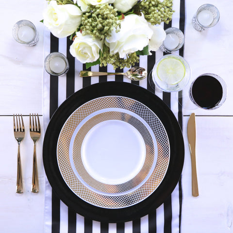 Party Sets & Disposable Dinnerware - Styled Settings
